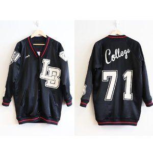 Plus (+) People Iris Varsity Letterman Jacket US 1